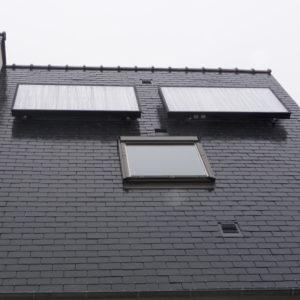 Panneaux solaires thermiques autovidangeables