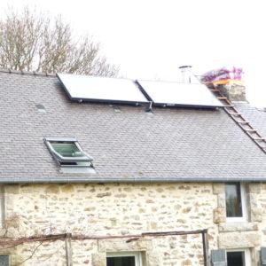Capteurs solaires autovidangeables